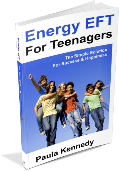 Energy EFT For Teenagers by Paula Kennedy - Front Cover