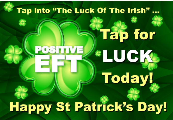 Positive EFT for luck