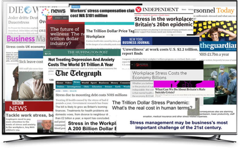 Stress In The News Worldwide